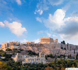 la acropolis de grecia